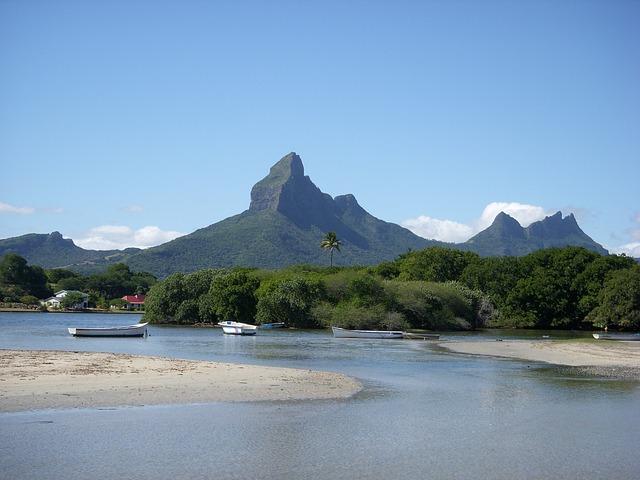 pláž mauritiusu