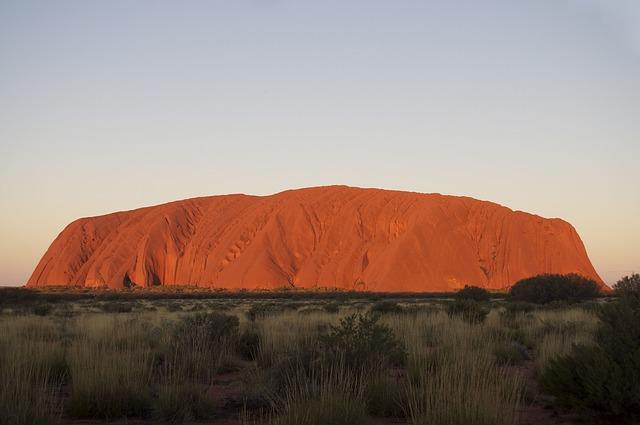 australská pustina