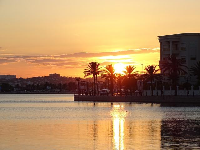 tuniské jezero